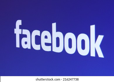 Johor, Malaysia - Jun 17, 2014: Facebook icon on computer screen, Facebook is a popular free social networking website in the world, Jun 17, 2014 in Johor, Malaysia.