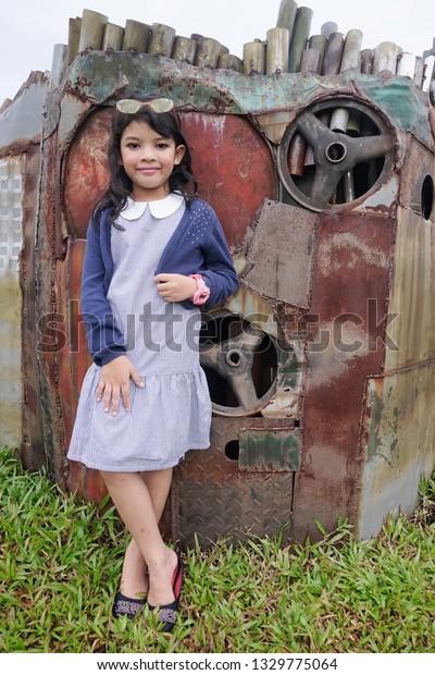 Johore Malaysia March 2019 Stylish Little Stock Photo (Edit Now
