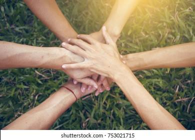 Join hands harmoniousness