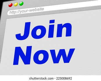 Join Now Representing At The Moment And Now
