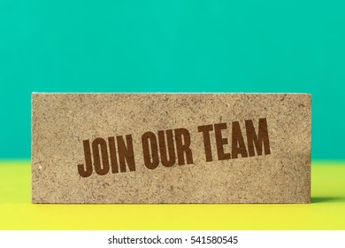 Join Our Team, Business Concept