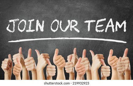 Join our Team - thumbs up