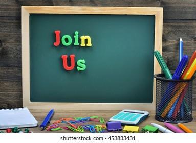 Join Us word on school board