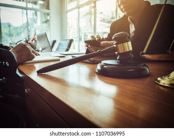 Joint legal team of lawyers and businessmen to start a business, accounting and real estate concept.