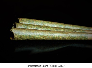 Joint, spliff, jay, or doobie, is a rolled cannabis cigarette. Unlike commercial tobacco cigarettes, joints are ordinarily hand-rolled by the user with rolling papers