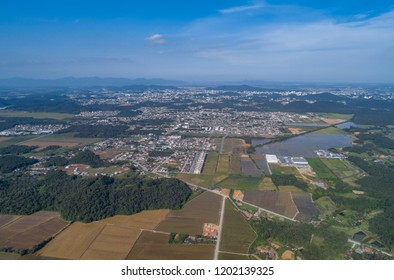 Joinville rural and urban from above
