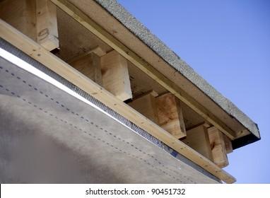 Joist ends on new dormer roof