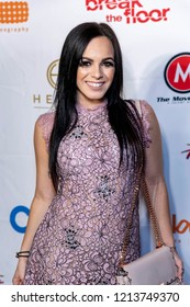 Jojo Gomez  attends 8th Annual World Choreography Awards at Saban Theater, Beverly Hills, California on October 23rd, 2018