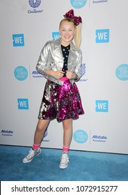 JoJo Siwa at the 2018 WE Day California held at the Forum in Inglewood, USA on April 19, 2018.