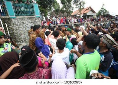 Joko Widodo President of Indonesia Visiting Tumang, Boyolali Indonesia on 7th July 2017
