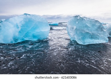Jokulsarlon is a glacial lagoon or better known as Iceberg Lagoon which located in Vatnajokull National Park Iceland