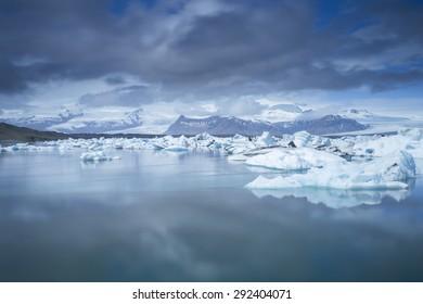 Jokulsarlon Glacial Lagoon in Iceland, June 2015