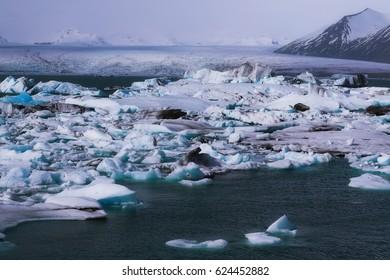 Jokulsarlon glacier lagoon, Iceland
