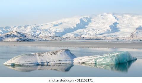 Jokulsarlon Glacier Lagoon, South Iceland