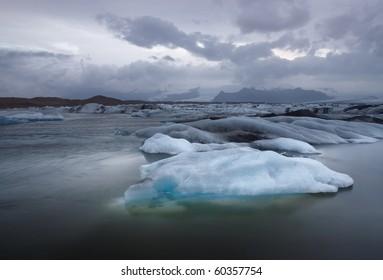 Jokulsarlon Ice Lagoon. Iceland.