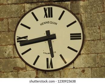 Jolie horloge de clocher