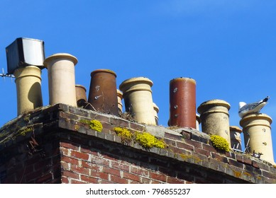 The Jolly Chimneys of Jersey, Channel Islands