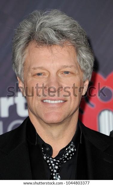 Jon Bon Jovi 2018 Iheartradio Music Stock Photo (Edit Now) 1044803377