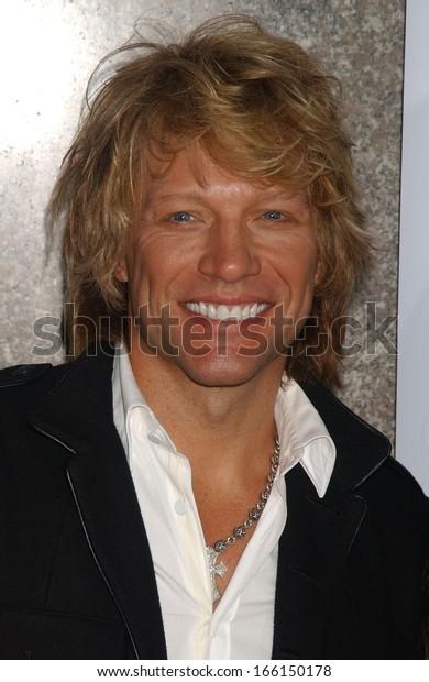 Jon Bon Jovi Fashion Rocks Benefit Stock Photo (Edit Now
