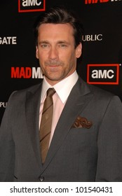 "Jon Hamm at AMC's ""Mad Men"" Season 4 Los Angeles Premiere, Mann Chinese 6, Hollywood, CA 07-20-10"