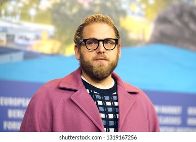 Jonah Hill attends the 'Mid 90's' press conference during the 69th Berlinale International Film Festival Berlin at Grand Hyatt Hotel on February 10, 2019 in Berlin, Germany.