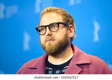 Jonah Hill poses at the 'Mid 90's' photocall during the 69th Berlinale International Film Festival Berlin at Grand Hyatt Hotel on February 10, 2019 in Berlin, Germany.