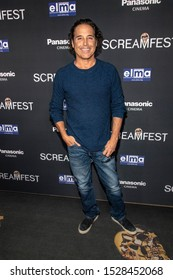 """Jonathan Baker attends 19th Annual Horror Film Festival – ScreamFest - Opening Night """"Eat, Brains, Love"""" Los Angeles Premiere at TLC Chinese Theatre, Hollywood, CA on October 8, 2019"""