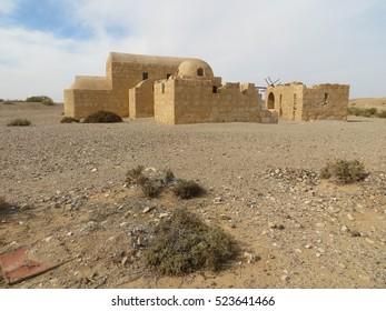 Jordan desert castle - Qasr Amra