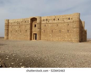 Jordan desert castle - Qasr Kharana
