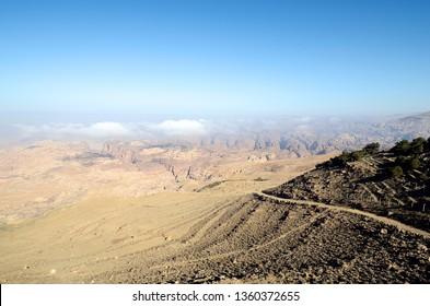 Jordan, desert landscape in Masuda Proposed Reserve