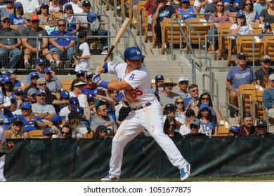 Jordan Jankowski pitcher for the Los Angeles Dodgers at Camelback Ranch -Glendale in Phoenix, Arizona USA March 18,2018.