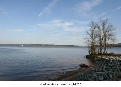 Jordan Lake, Apex