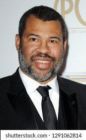 Jordan Peele at the 30th Annual Producers Guild Awards held at the Beverly Hilton Hotel in Beverly Hills, USA on January 19, 2019.