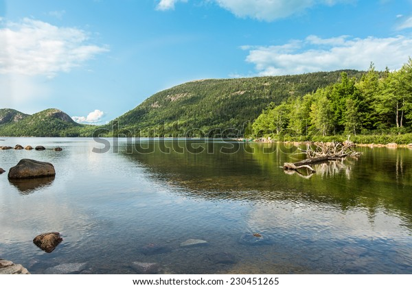 Jordan pond Acadia National Park at Maine
