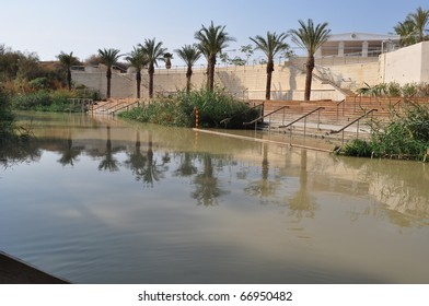 Jordan river nature from Jordan Over Palestine