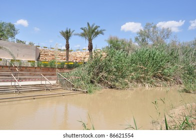 Jordan river,holy land