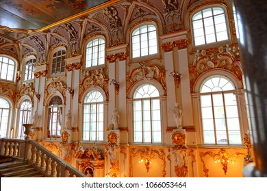 Jordan Staircase of the Winter Palace Hermitage Museum St. Petersburg Russia