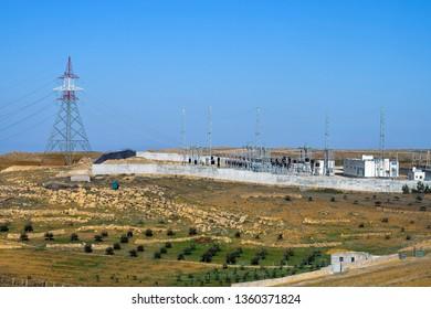 Jordan, transformer and transmitting station