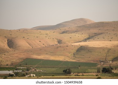 Jordan Valley hills and mountains in Israel