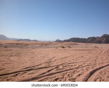 Jordan, the Wadi Rum desert.