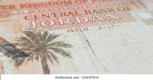 Jordanian Dinar Isolated