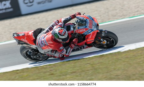Jorge Lorenzo during MotoGP Motul TT Assen race in TT Circuit Assen (Assen - Netherlands) on June 29 2018