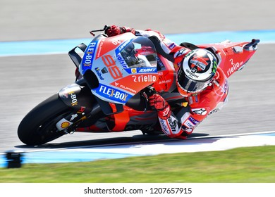 Jorge Lorenzo No99 Of Spain And Ducati Team In Action During The Pre Practice