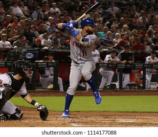 Jose Bautista right fielder for the New York Mets at Chase Field in Phoenix Arizona USA June 15,2018.