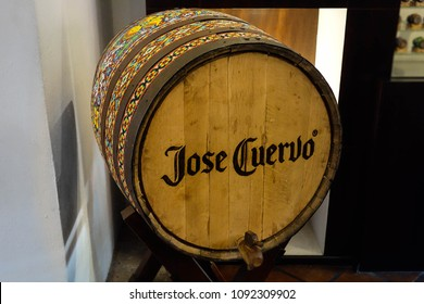 Jose Cuervo Tequila barrel in Tequila, Jalisco. Mexico 2015.