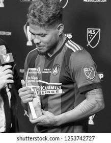 Josef Martinez  - MLS Championship - Atlanta United FC Vs. Portland Timbers FC in Atlanta Georgia USA Mercedes Benz Stadium December 08th 2018
