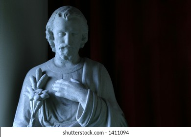 Joseph the Betrothed, front view - Patron saint of workers and families