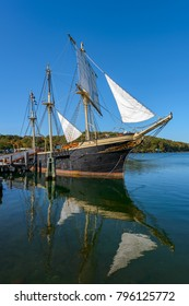 The Joseph Conrad at Mystic Seaport, Mystic CT Full-Rigged Ship  Built in Copenhagen in 1882