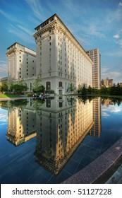 Joseph Smith Memorial Building Perfect Reflection