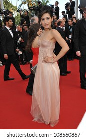 Josephine Jobert at the gala screening of Lawless, in competition at the 65th Festival de Cannes. May 19, 2012  Cannes, France Picture: Paul Smith / Featureflash